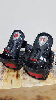 Nidecker  FR 660  Snowboard  Bindings  -  Used