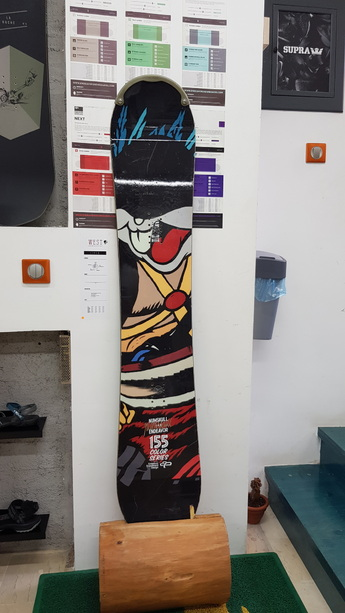 Endeavor  Color  Series  Snowboard  -  Used  155