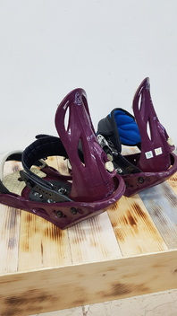 Option  Luxe  Snowboard  Bindings  -  Used