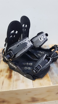 Union  DLX  Snowboard  Bindings  -  Used