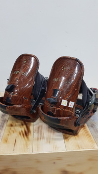 Option  Contact  Snowboard  Bindings  -  Used