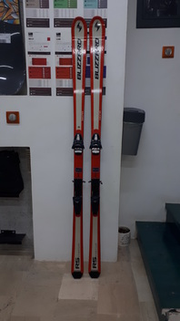 Blizzard  RS  SIGMA  Titanium  Skis  -  Used  177